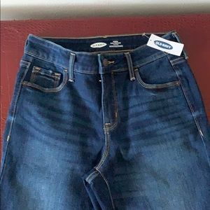 Old navy jeans slim straight high rise size 2p